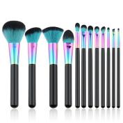 Hunputa New 12PCS/Set Cosmetic Makeup Brush Makeup Brush Eyeshadow Brush
