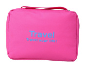 Icegrey Travel Organiser Toiletry Makeup Bag with Hanging Hook