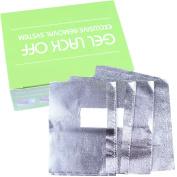 Beauty Leader 100 Nail Art Soak Off Removal Gel/Polish/Acrylic/Shellac Foil Wraps