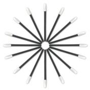 Eforstore 100 Pcs Disposable Lipbrushes Makeup Lip Brush Applicator Lipstick Gloss Wands Cosmetic Tool