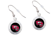 Western Kentucky University Silver-tone Dangle Earrings