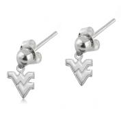 NCAA University of West Virginia Mountaineers (WVU) Jewellery - Sterling Silver Women's Earrings