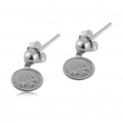 NCAA University of Iowa Hawkeyes Jewellery - Sterling Silver Women's Earrings