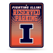 NCAA Metal Parking Sign
