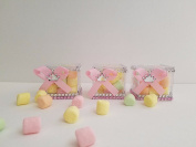 12 Princess Fillable Blocks Baby Shower Favours Prizes Game Girl Decorations