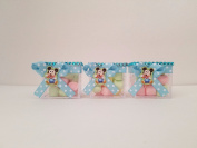 12 Mickey Mouse Fillable Blocks Baby Shower Favours Prizes Game ~ Boy Decorations