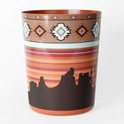Mainstays Aztec Sunset Waste bin baskets