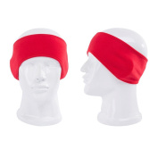 PIXNOR Headbands for Men and Women, Ear Muff Stretch Spandex Hair Band