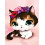 WinnerEco 5D Diamond DIY Painting Craft Lovely Cat Home Decor L782
