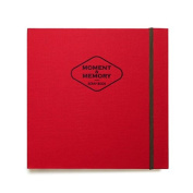 """'Moment' Scrapbook Photo Album Organiser Scrapbooking Memory Book Recording Story Collect Book Ticket Stub Diary Ticket Book , Spiral Bound, 80 Pages, Pocket, 8.77"""" X 8.85"""""""