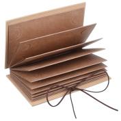 Mudder Hardcover Photo Album Kraft Paper Folding Photo Album DIY Scrapbooking Wedding Album Anniversary Sketchbook