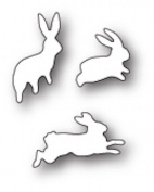 Poppystamps - Memory Box Craft Die - Bunny Hop