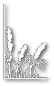 Memory Box Craft Die - Small Lavender Stems Left Corner