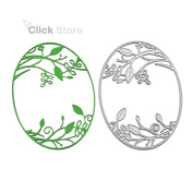 Oval Leaves Metal Cutting Dies Stencil For DIY Scrapbooking Decorative Craft Photo Album Embossing Folder Paper Crad