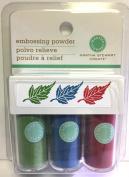 Martha Stewart Crafts - Embossing Powder -- 3 Piece Set
