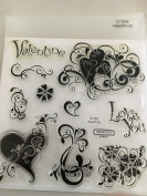 Close To My Heart Heartthrob My Acrylix Stamp Set D1309