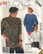 McCall's # 2245 Misses Unlined Jacket Sewing Pattern Size