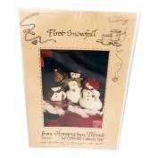 Vintage 1992 Hanging by a Thread by Connie Calicos, Too First Snowfall Snow Family Patterns 10cm ,18cm ,20cm