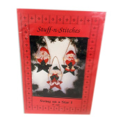 Stuff-n-Stiches Swing on a Star Christmas Ornaments Sewing Patterns 20cm