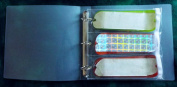 #32 binder 3 ring clear flasher and dodger sleeve notebook