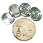 """63mm 2.5"""" 4Pc Aluminium Sifter Magnetic Grinder D-123 Over The Fence"""