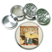 """63mm 2.5"""" 4Pc Aluminium Sifter Magnetic Grinder D-104 Nellie In A Night At The Circus"""