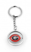 NCAA Florida State Seminoles Rubber Football Spinning Keyring