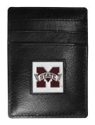 NCAA Leather Money Clip/Cardholder