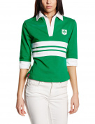 3 for a Girl Women's Irish Striped Rugby Shirt