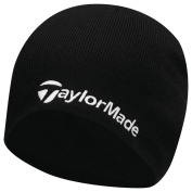 TaylorMade 2017 Thermal Fleece Beanie Double Knitted Mens Golf Hat