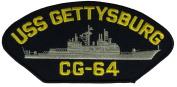 USS GETTYSBURG CG-64 PATCH - Multi-coloured - Veteran Owned Business