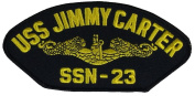 USS JIMMY CARTER SSN-23 PATCH - Multi-coloured - Veteran Owned Business