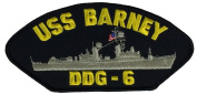 USS BARNEY DDG-6 PATCH - Multi-coloured - Veteran Owned Business