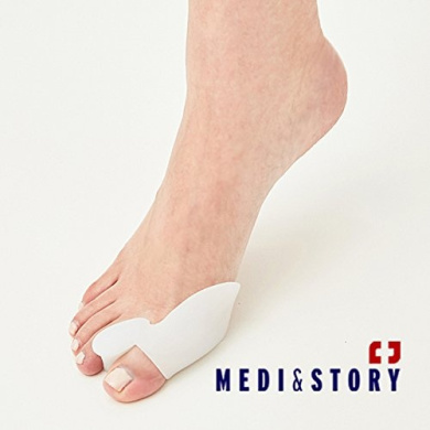 [Medi & Story] Bunion Relief 2 Big Toe Protectors For Bunions Treatment Bunion Gel Toe Separators, Spacers, Straightener