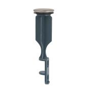 BrassCraft Universal Bathroom Drain Pop-Up Stopper, Satin Nickel