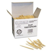 CKC369001 - Chenille Kraft Flat Wood Toothpicks by Chenille Kraft
