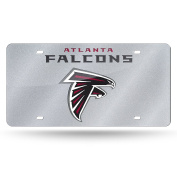 NFL Bling Laser Cut Auto Tag Plate, 30cm x 15cm , Silver