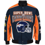 Denver Broncos 3 Time Super Bowl 50 Champions Cotton Twill Jacket By G-III