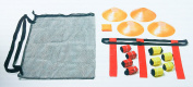 Complete 10 Player Flag Football Set with Mesh Storage/Travel Bag. 5% to Children's Charity