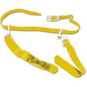 YELLOW Flag-a-Tag Sonic Boom FLAG Football 1 Single REPLACEMENT BELT w/ 2 flags