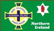 Northern Ireland Football Association Flag 150cm x 90cm