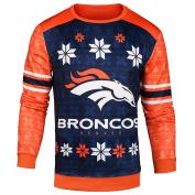 NFL Men's Printed Ugly Sweater, Multiple Teams