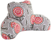 Majestic Home Goods Michelle Reading Pillow, Salmon