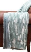 Thro by Marlo Lorenz TH010125003 Faux Fur Throw Blanket, Tourmaline