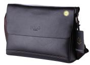 VIDENG POLO PL348 Hotest Top Luxury Genuine Leather Men's Briefcase Shoulder Messenger Business Bag From Italy Design
