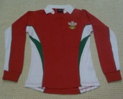 Wales Welsh Long Sleeve Ladies Rugby Shirt