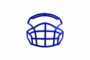 Xenith Pursuit Football Facemask, Royal Blue