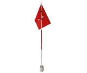Practise Golf Putting Green Flags With Cup Backyard Golf Flagstick
