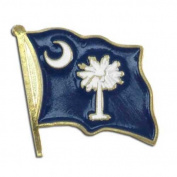 US Flag Store South Carolina Flag Lapel Pin