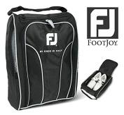 Genuine FOOTJOY Golf Shoes Bag Zipped Sports Bag Shoe Case - Black Colour
